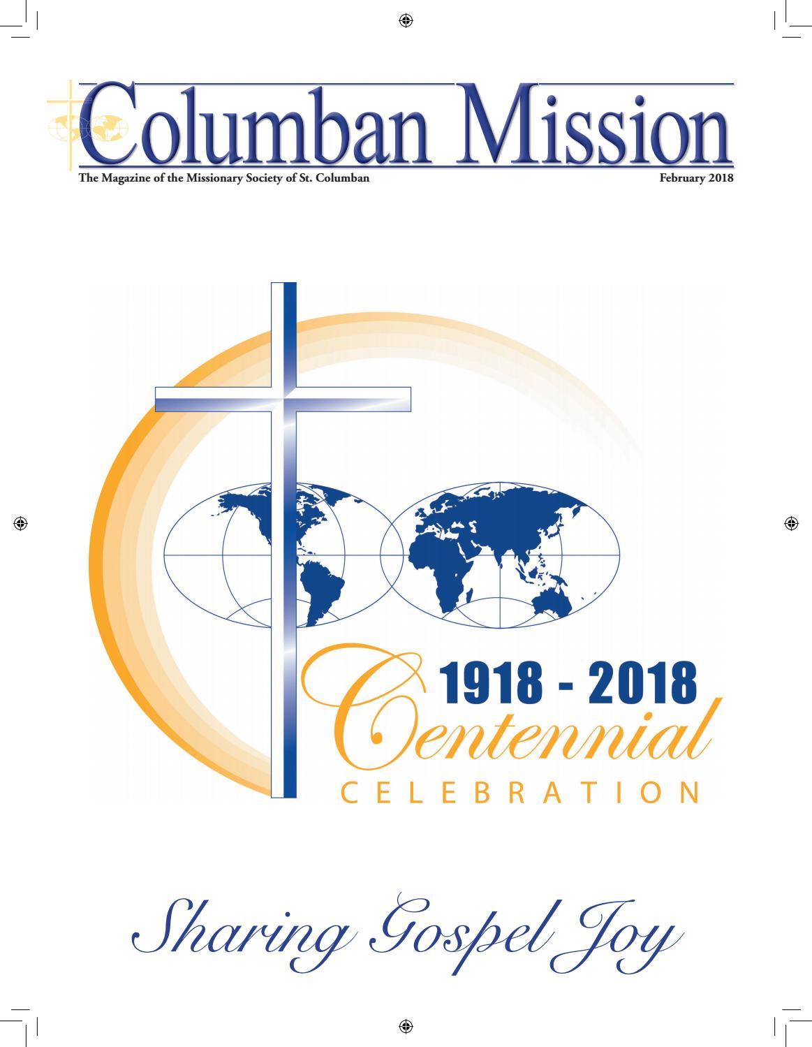 Columban Mission Magazine   February 15 by Columban Fathers   issuu