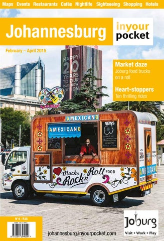 Johannesburg In Your Pocket Issue 4 Feb Apr 2015 By