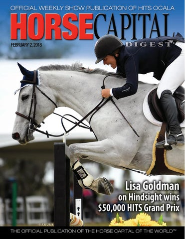 Hcd February 2 By Florida Equine Publications