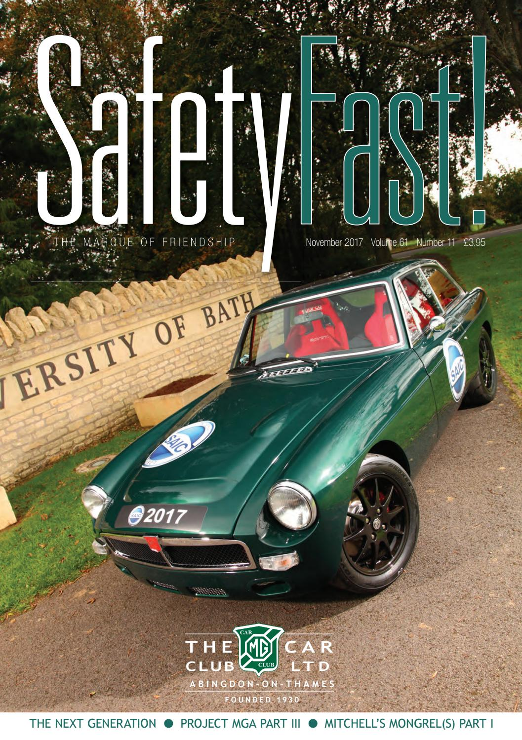 November 2017 by MG Car Club - issuu