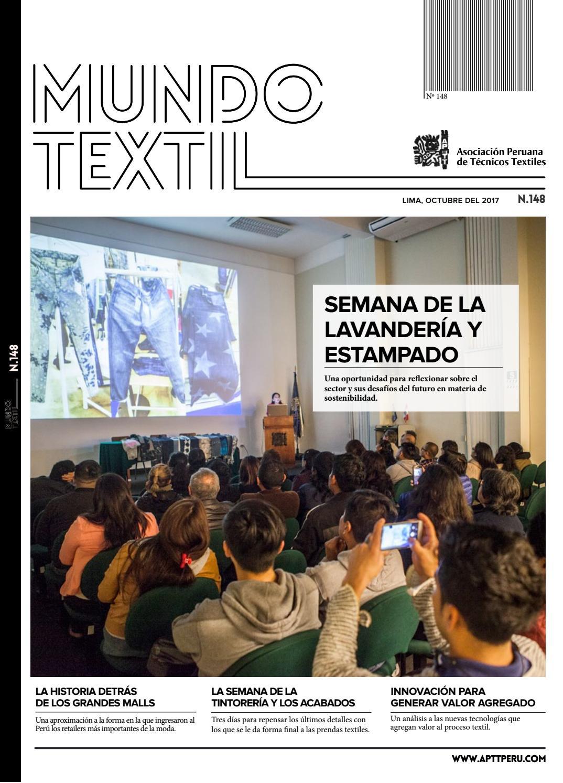 MUNDO TEXTIL 148 by Asociación Peruana de Técnicos Textiles - issuu 8a782c13217