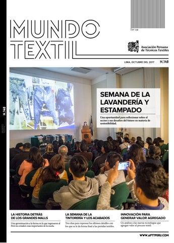MUNDO TEXTIL 148 by Asociación Peruana de Técnicos Textiles - issuu 12cab750c4bb9