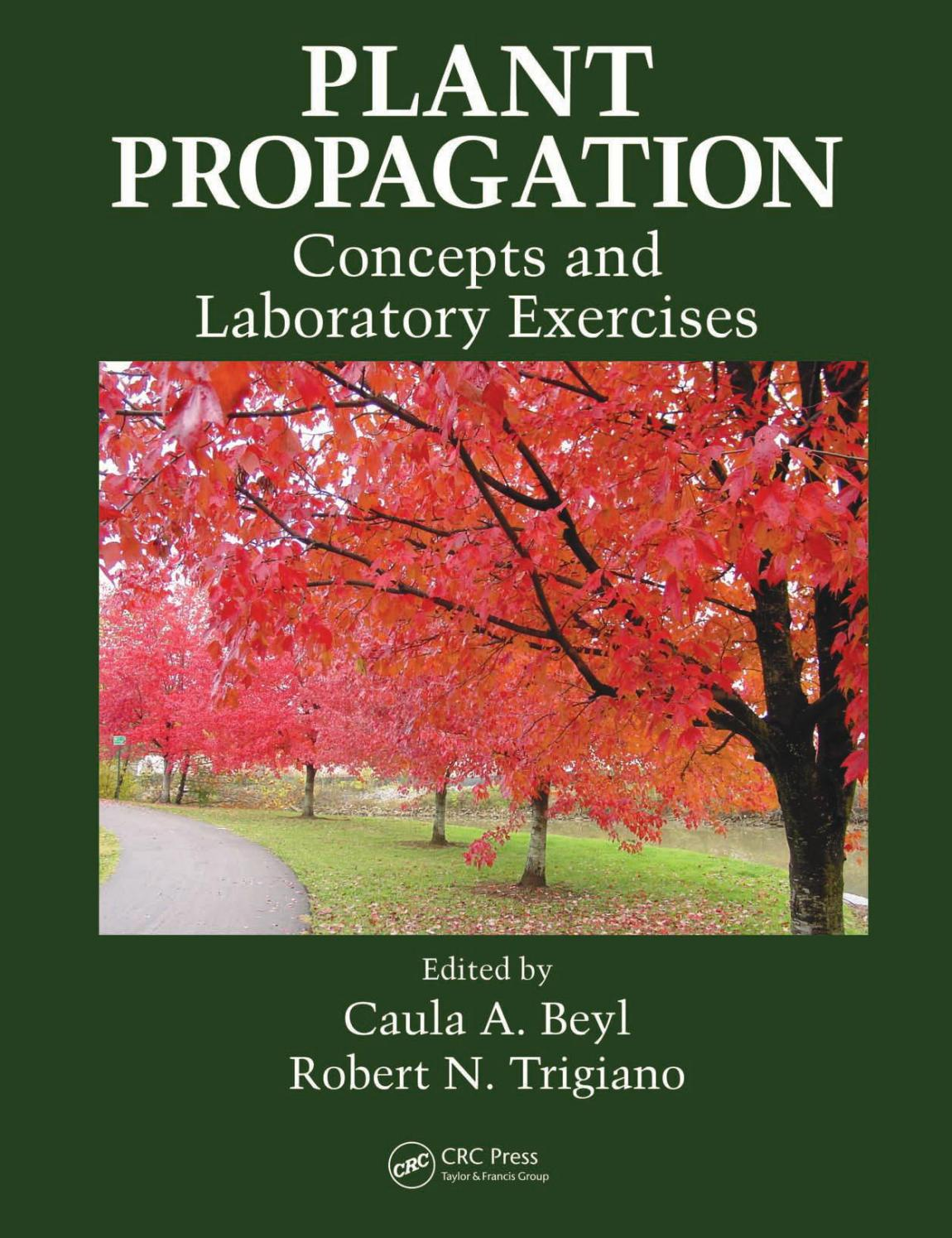 Plant propagation concepts and laboratory exercices caula a