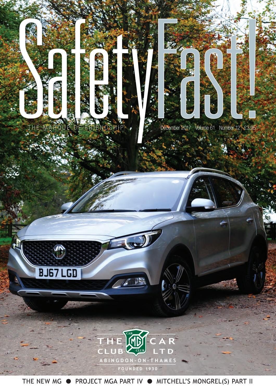 SafetyFast! December 2017 by MG Car Club - issuu a3fd68628c77