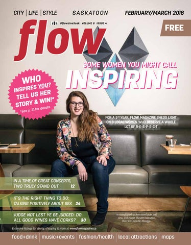 Inspiring Women of YXE by flow magazine - issuu
