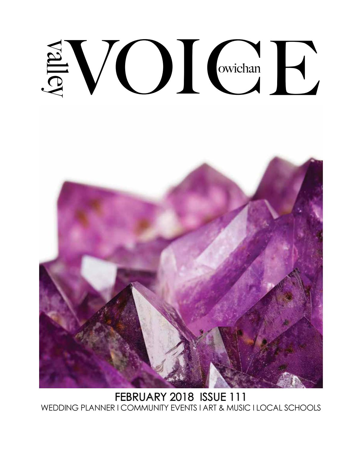 VV February 2018 Issue 111 by Cowichan Valley Voice - issuu