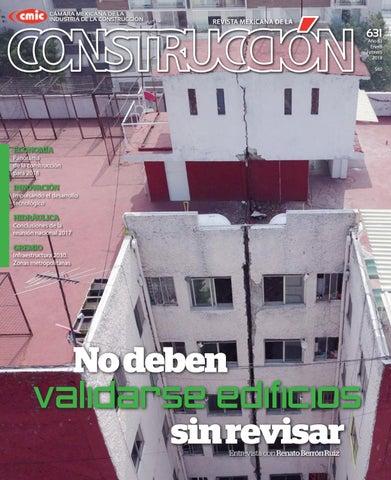 c25f73cce39 Revista Mexicana de la Construcción RMC 631 Enero-Febrero 2018 by ...
