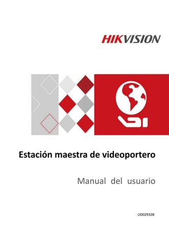 como conectar un videoportero hikvision