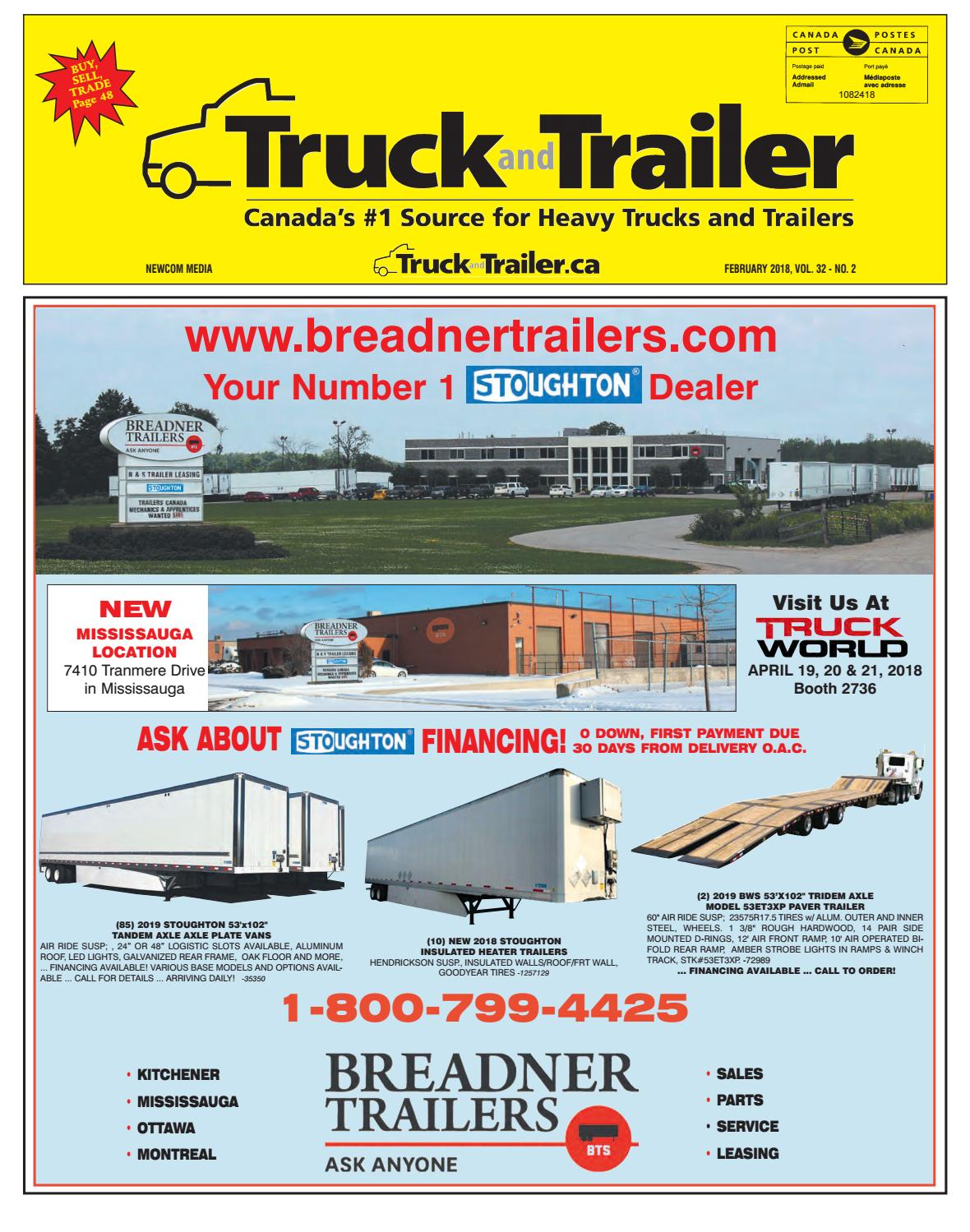 Truck and Trailer February 2018 by Annex-Newcom LP - issuu
