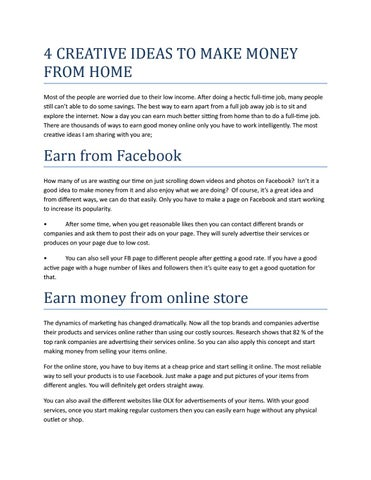 4 creative ideas to make money from home by game guardian issuu