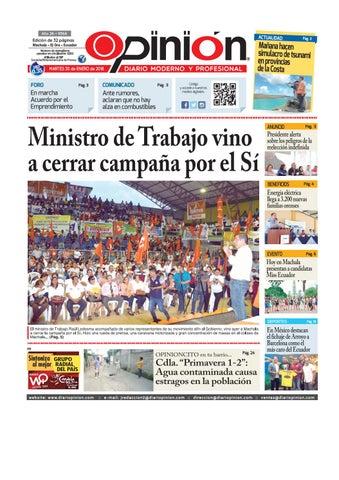 newest 24025 25365 Impreso 30 01 18 by Diario Opinion - issuu
