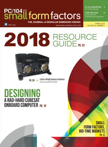 PC/104 and Small Form Factors with Resource Guide Winter 2018 by