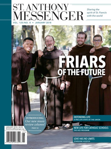 64a53015e77f St. Anthony Messenger January 2018 by Franciscan Media - issuu