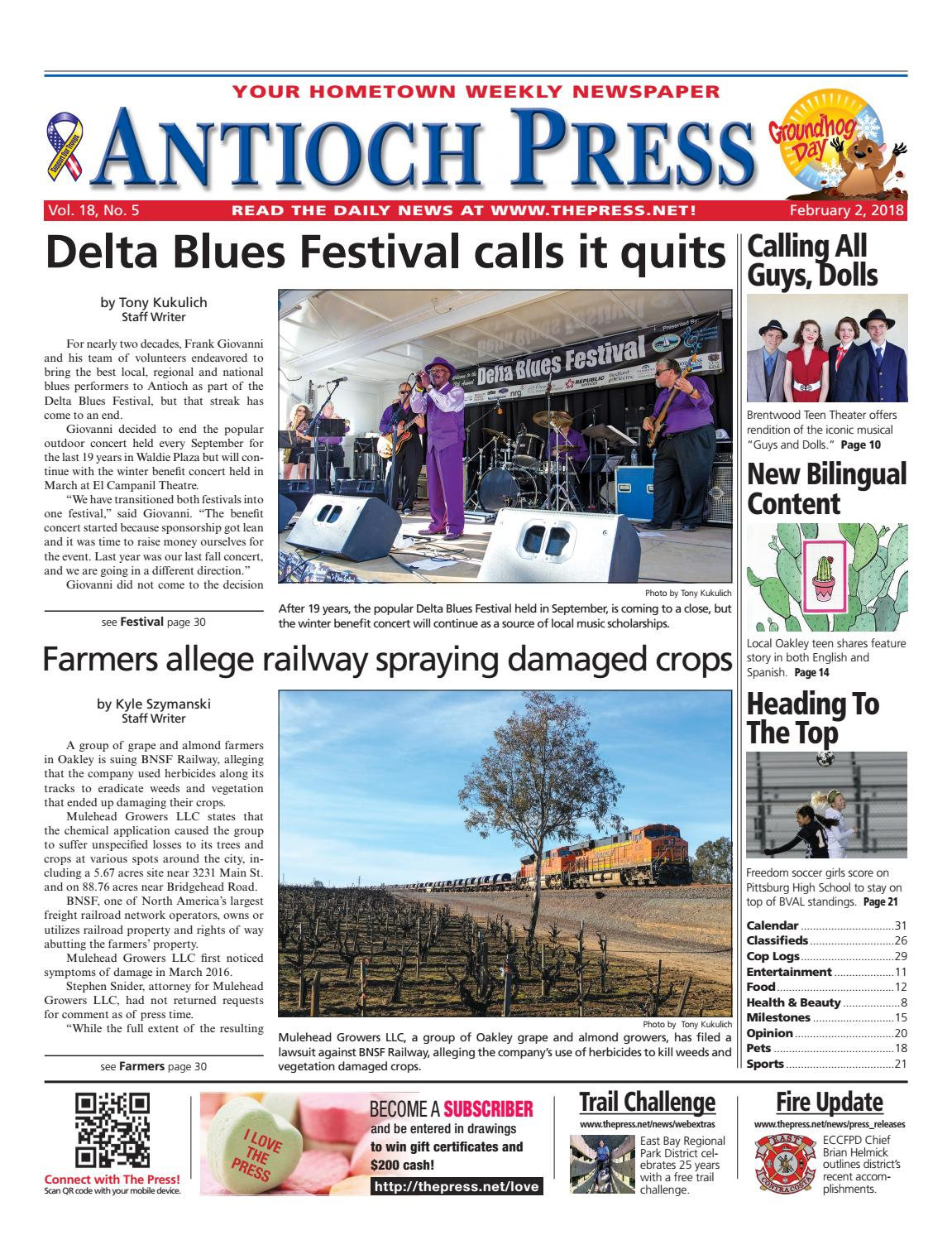 3c8d709a89cd Antioch Press 02.02.18 by Brentwood Press   Publishing - issuu