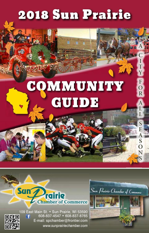 2018 Sun Prairie Community Guide By Sun Prairie Chamber Of