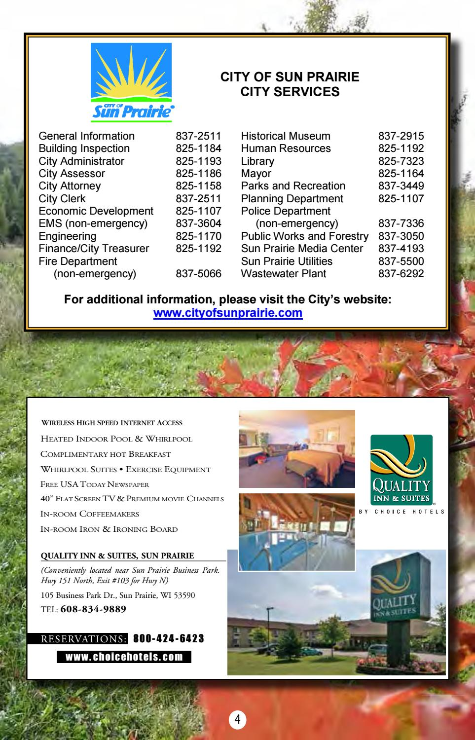 2018 Sun Prairie Community Guide by Sun Prairie Chamber of