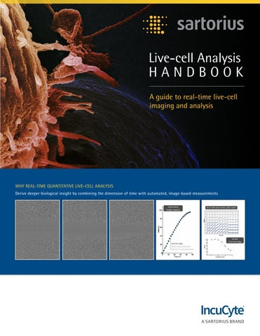 IncuCyte® Live-cell Analysis Handbook by Nicholas Fargher