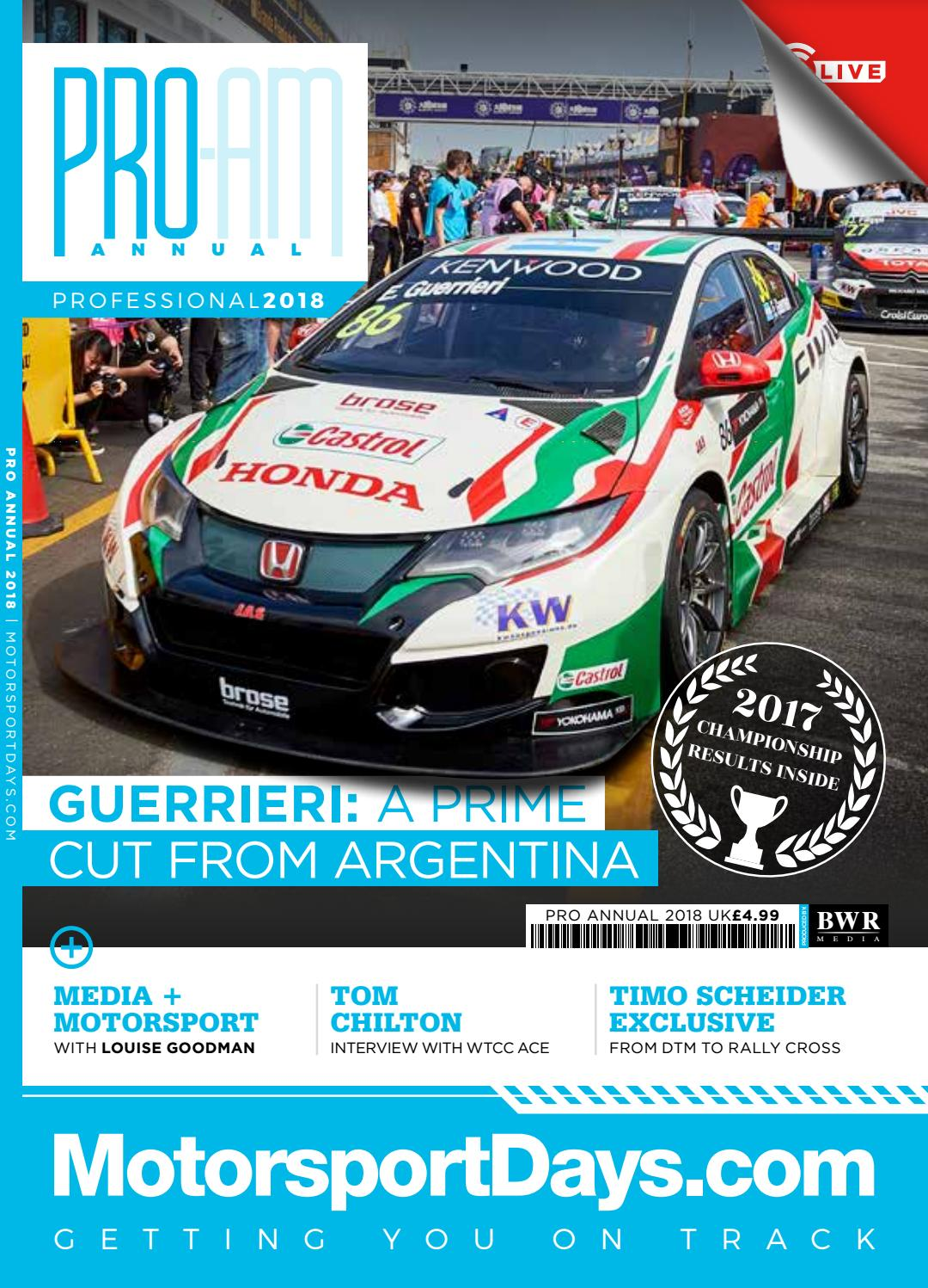 Circuito Jackson Rees : Pro annual 2018 by bwr media issuu