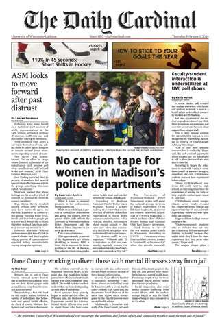 Thursday february 1 2018 by the daily cardinal issuu page 1 malvernweather Gallery