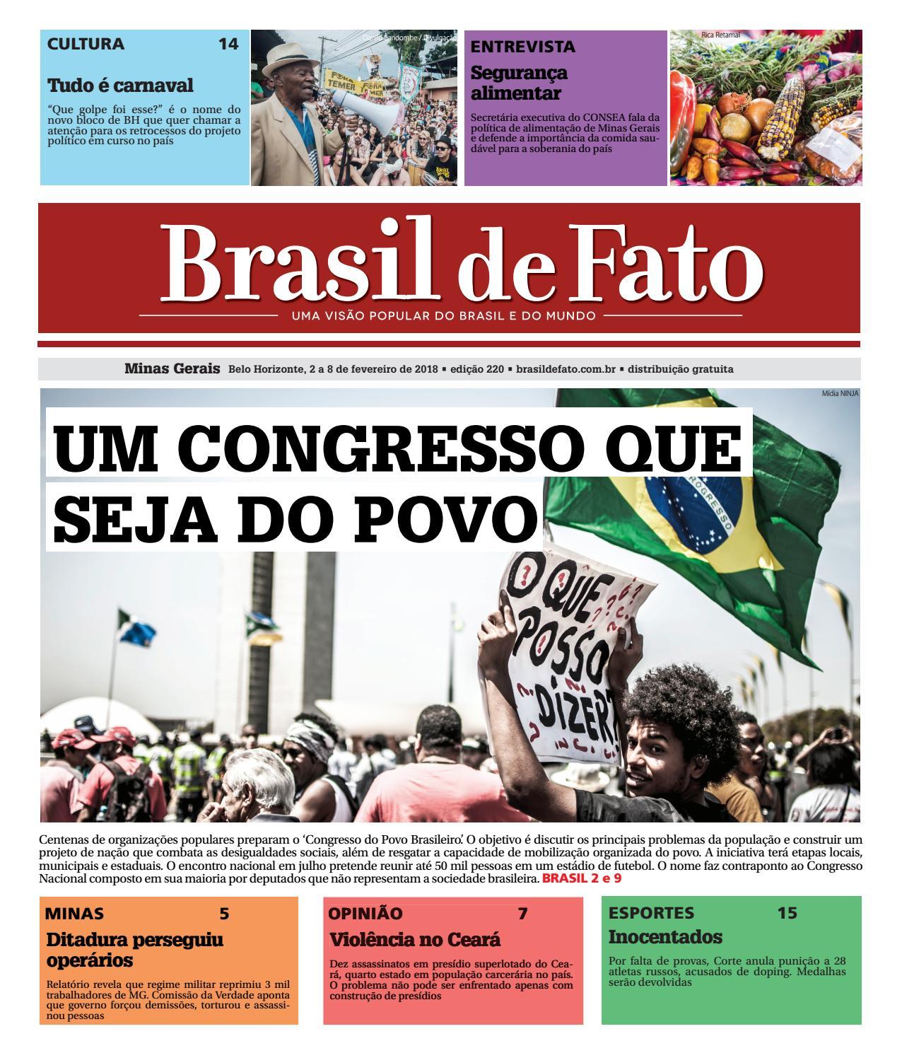 5d9e99e5a4f Edição 220 do Brasil de Fato MG by Brasil de Fato MG - issuu