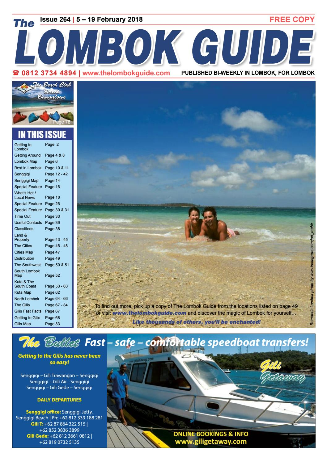 The Lombok Guide Issue 264 By Issuu Voucher Hotel Red Planet Bintang 2 Jakarta