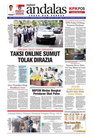24b93a1ca88 Epaper andalas edisi jumat 02 februari 2018 by media andalas - issuu