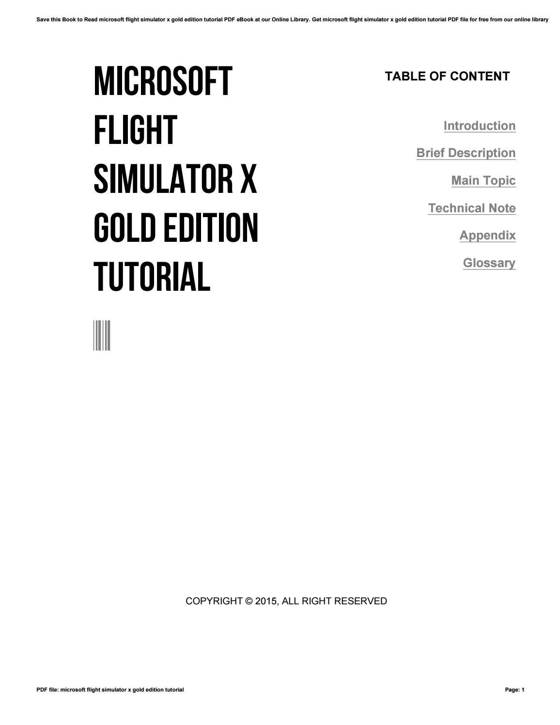 Microsoft flight simulator x downloads & add-ons.