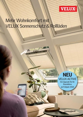 Page 1. Mehr Wohnkomfort Mit VELUX Sonnenschutz U0026 Rollläden