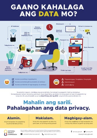 Data Privacy Poster By National Privacy Commission Issuu