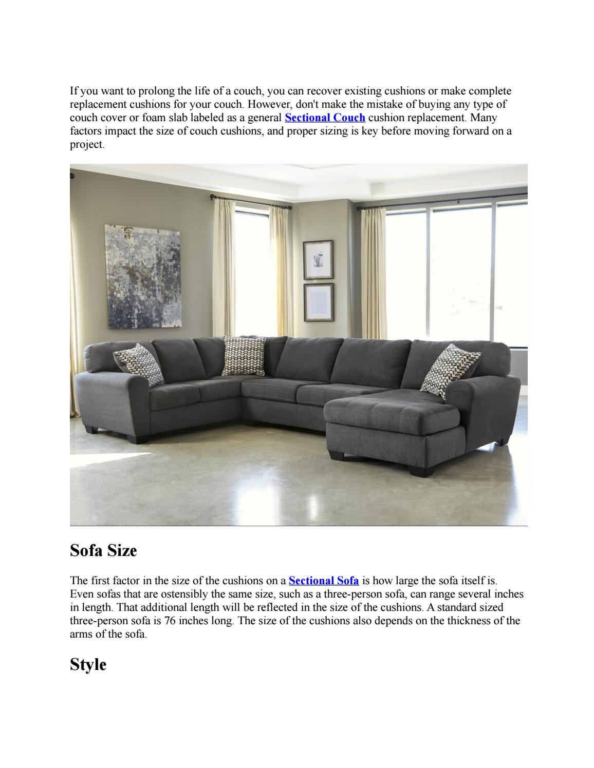 Sensational Sofa Cushion Sizes By Factory Direct Issuu Inzonedesignstudio Interior Chair Design Inzonedesignstudiocom