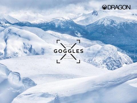 1881593ed60 Dragon Alliance 2018 19 snow goggles og soft goods