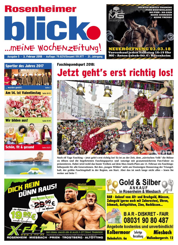 Rosenheimer blick - Ausgabe 05   2018 by Blickpunkt Verlag - issuu