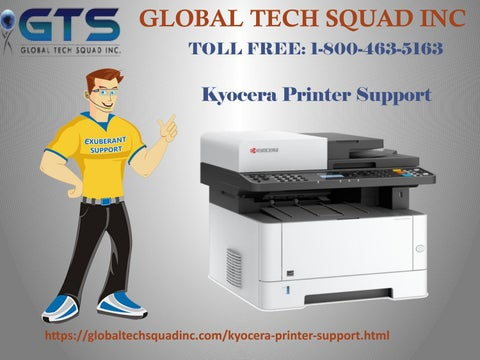 Kyocera Printer Tech Support In USA Call 1-800-463-5163 by maria - issuu