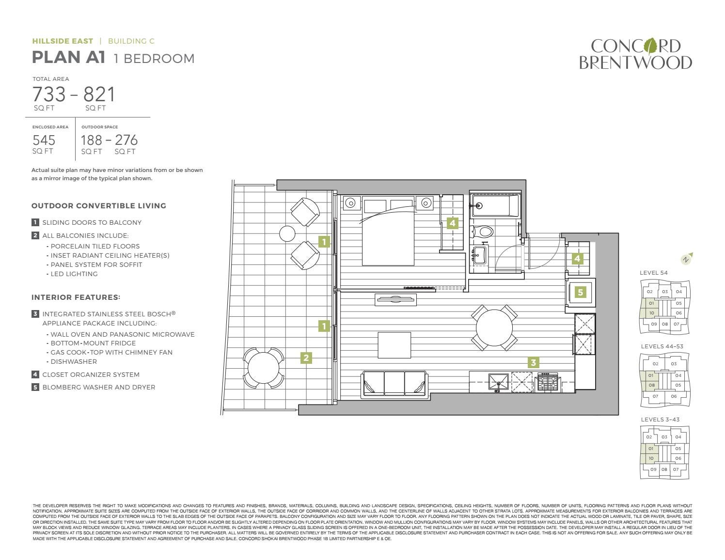 Concord Brentwood Hse Floorplan By Concord Pacific Issuu