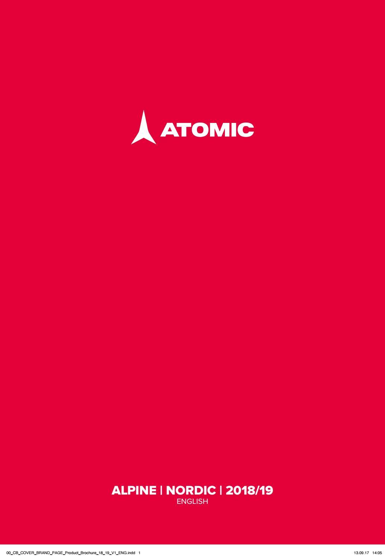 9533f27a657 Atomic Alpine   Nordic Catalog 2018-2019 eng by snowsport snowsport - issuu