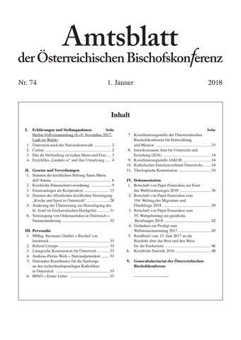 Amtsblatt 74 By Katholische Kirche österreich Issuu