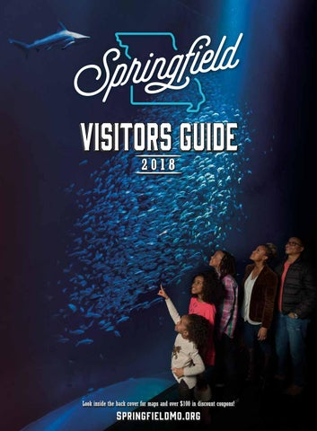 2018 Official Springfield Missouri Area Visitors Guide By