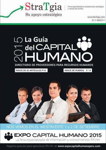 Guía del capital humano 2015 by MD Group - issuu 4f1d7fee4a974