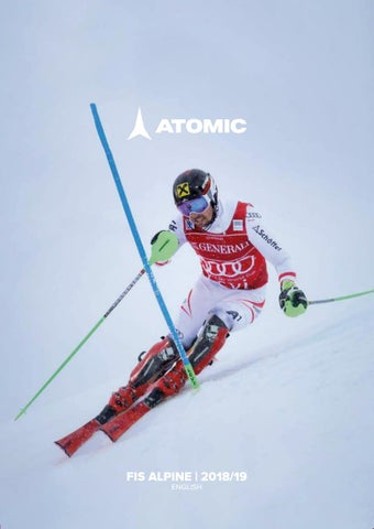 db503f7ec Atomic Alpine Fis Catalog 2018 2019 eng by snowsport snowsport - issuu