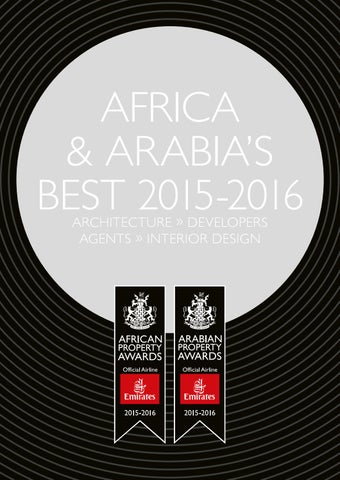 1b2e4da6df4 Africa & Arabia's Best 2015-2016 by International Property Media - issuu