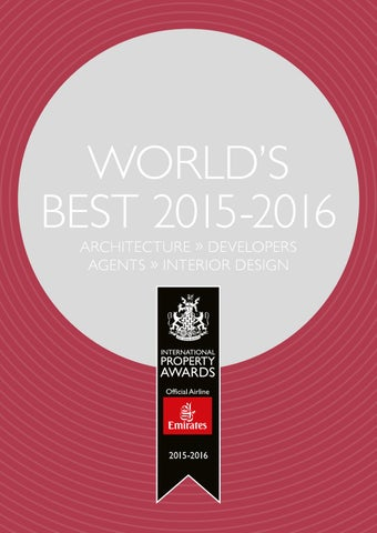 e5ecb336e91 World s Best 2015-2016 by International Property Media - issuu