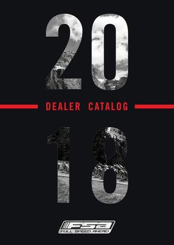 fc000e9c834 2018 Dealer Catalog – FSA, Vision, Metropolis by FSA - Full Speed ...