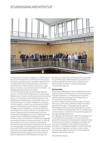Page 7 of Studiengang Architektur