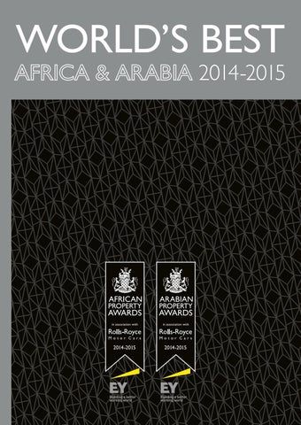 Africa & Arabia's Best 2014-2015 by International Property