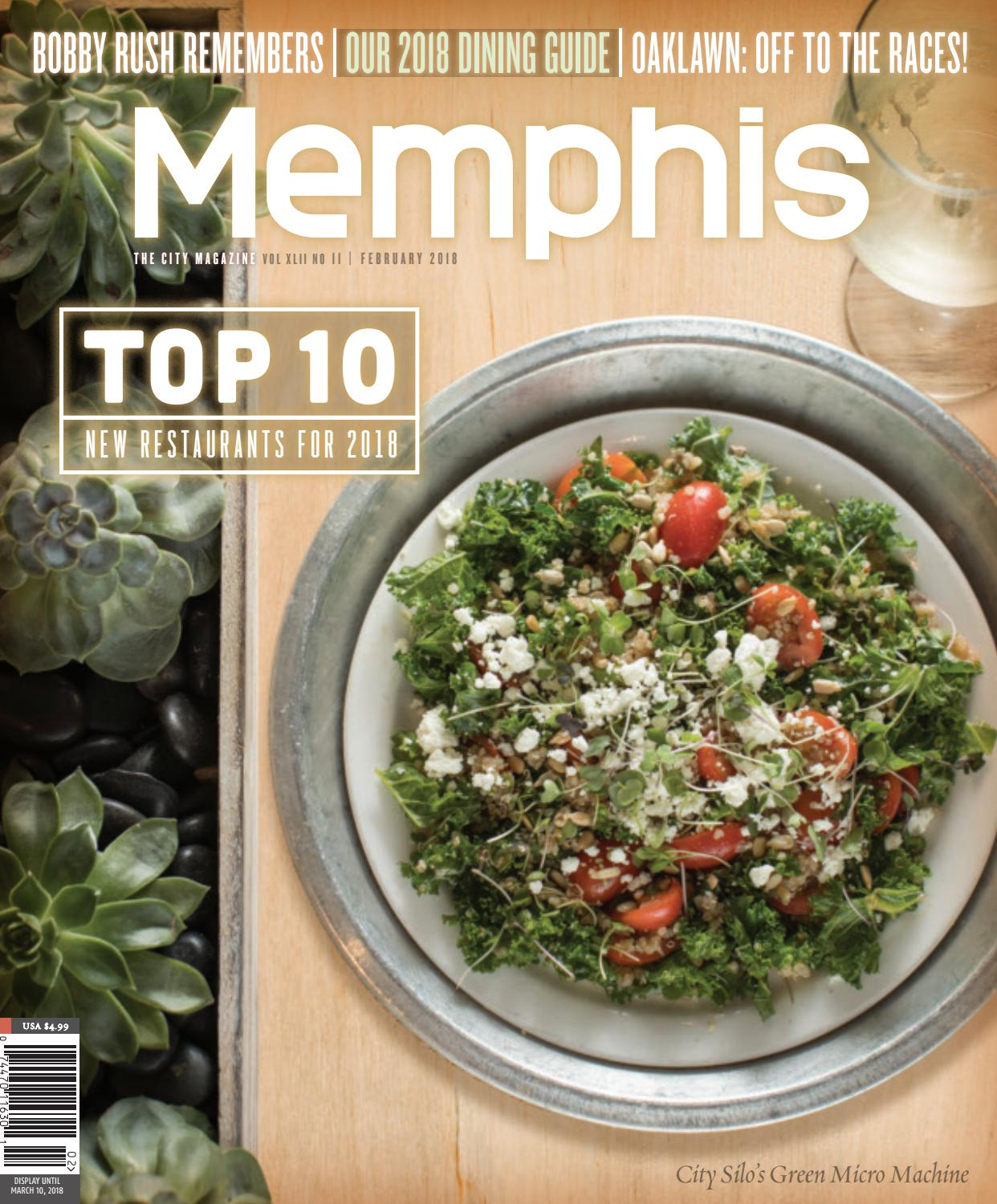 Memphis magazine february 2018 by contemporary media issuu fandeluxe Image collections