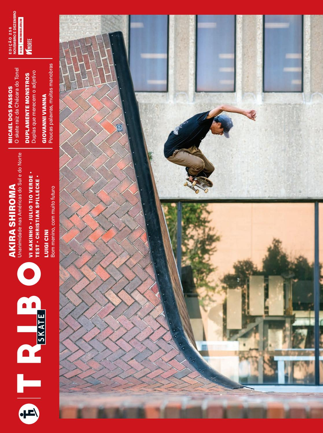 b84807fa5a7 Tribo Skate  256 by Revista Tribo Skate - issuu