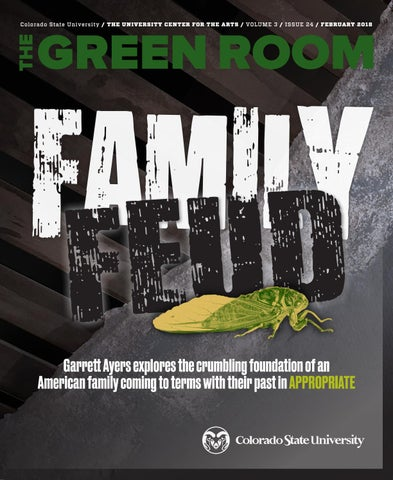 The Green Room February 2018 By Coloradostateuniversityuca Issuu
