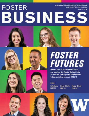 Foster Business Magazine Winter 2018 By University Of Washington