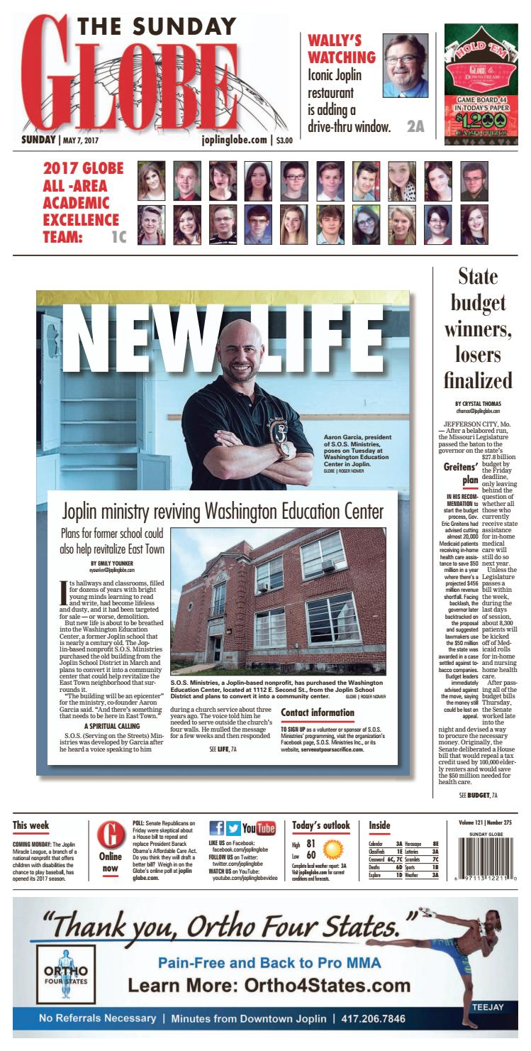 2b7e61405 Joplin globe 050717 by Gina Langston - issuu