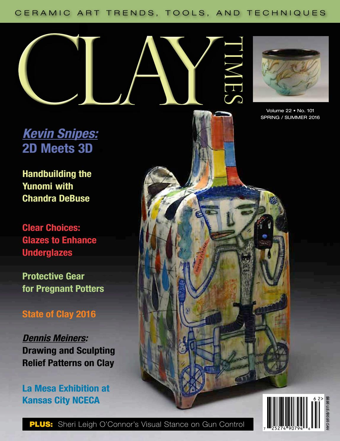 foto de Clay Times Magazine Volume 22 • Issue 101 by claytimes - issuu